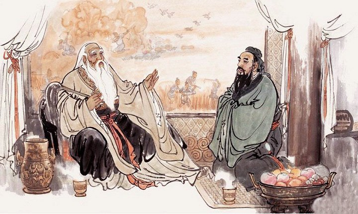 Lao Tsu and  Confucius  were the two major philosophies of China