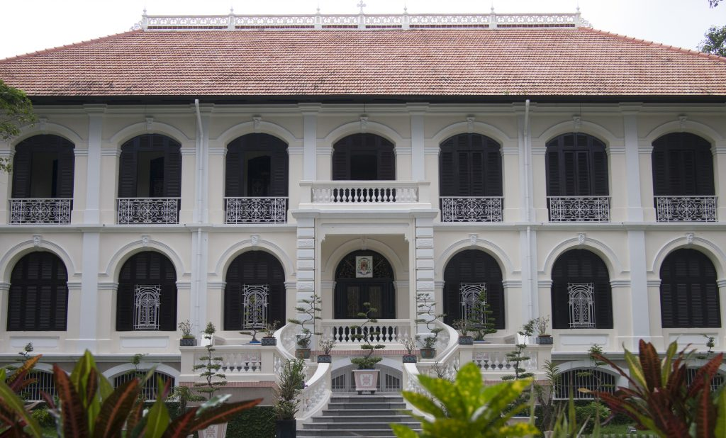 Sai Gon's oldest house is located on the premises of the Bishop's Office