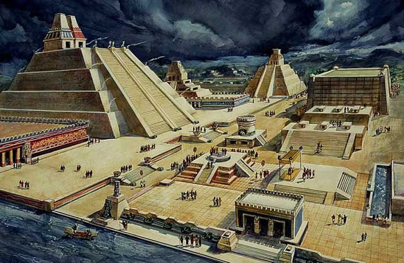 The center of the Aztec civilization was the Valley of Mexico. The Mexicans were especially interested in education. During the first years of life, fathers educated boys, while mothers took care of girls