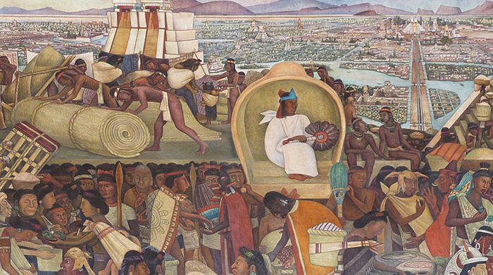 The Aztec society was divided into three classes