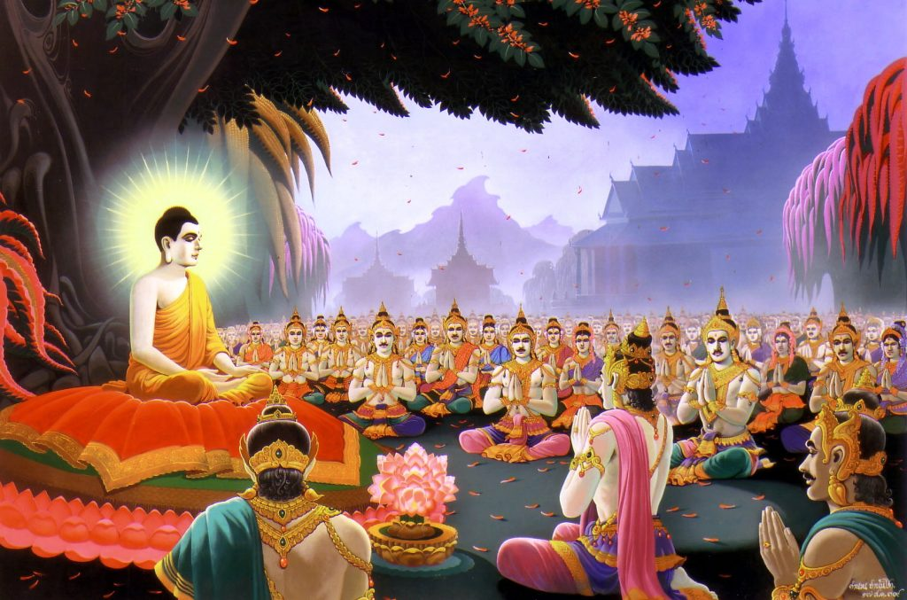 Buddhism first came to China  around 500 A.D