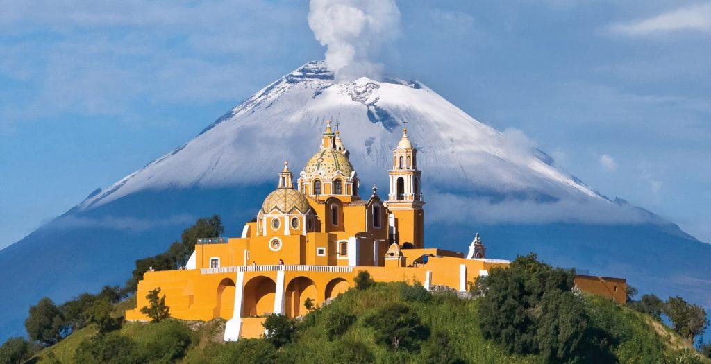 """Cholula-  """" Thánh địa"""" của ba thành phố chư hầu chính của Teotihuacan"""