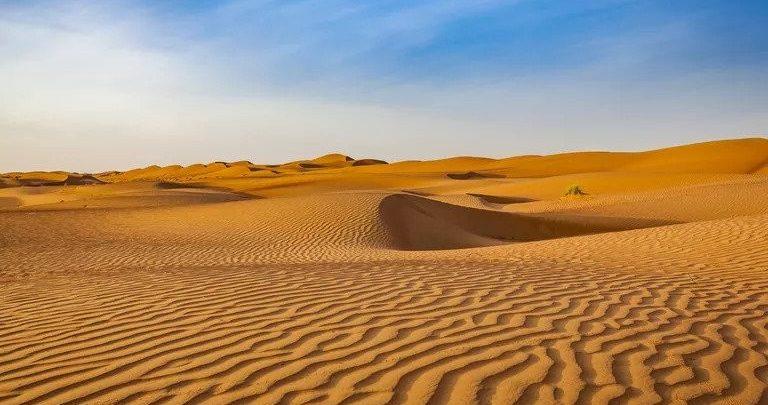 Desert type of climate