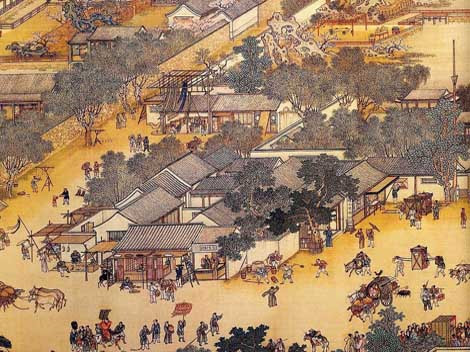 Agriculture was the main sector of Chinese economic around 1000 years ago