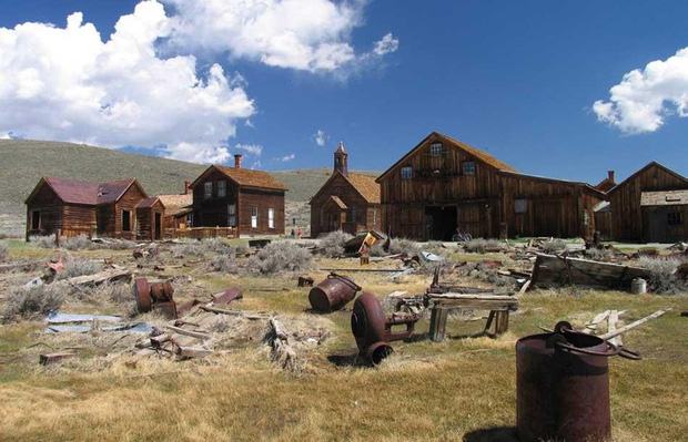 Ghost towns were once animated towns like many others