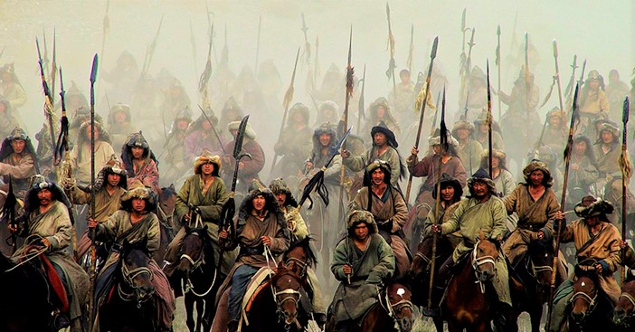 Mongol built up a formidable cavalry force